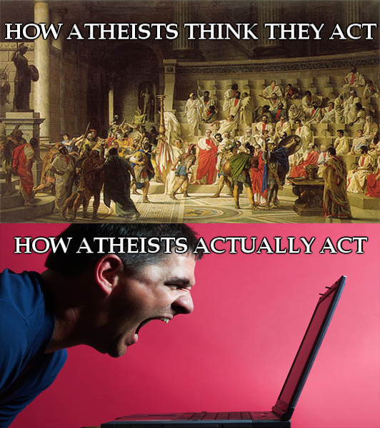 Reality versus Atheists