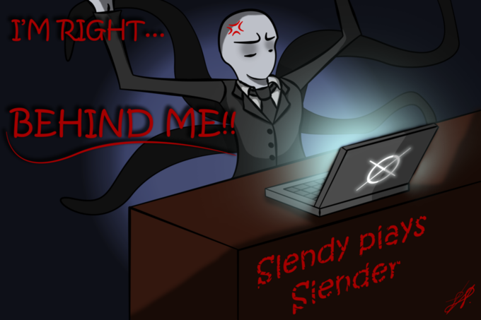 Slendy plays Slender