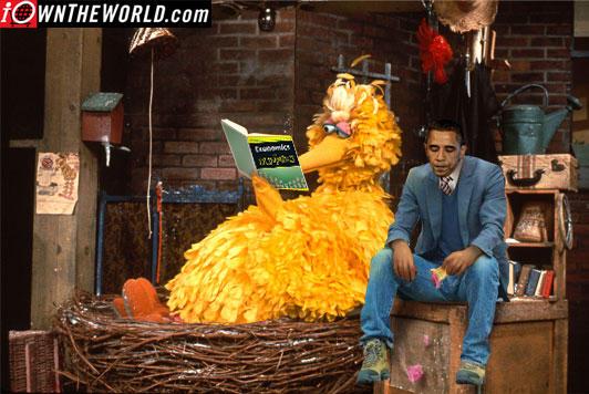 Sad Big Bird, Sad Obama
