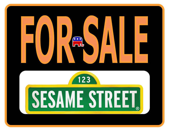 Sesame Street for Sale