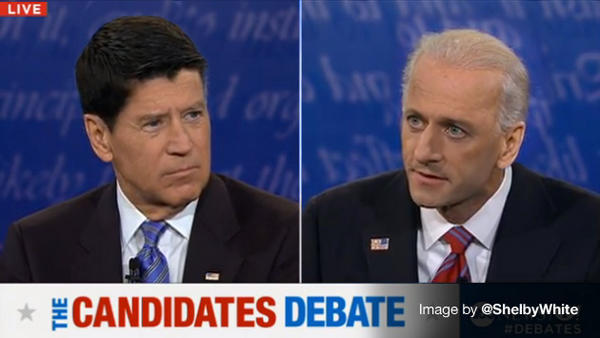 VP Debate Hairswap Edition