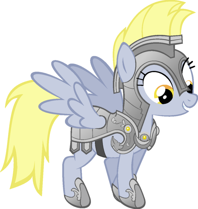 Armored Derpy, anyone?