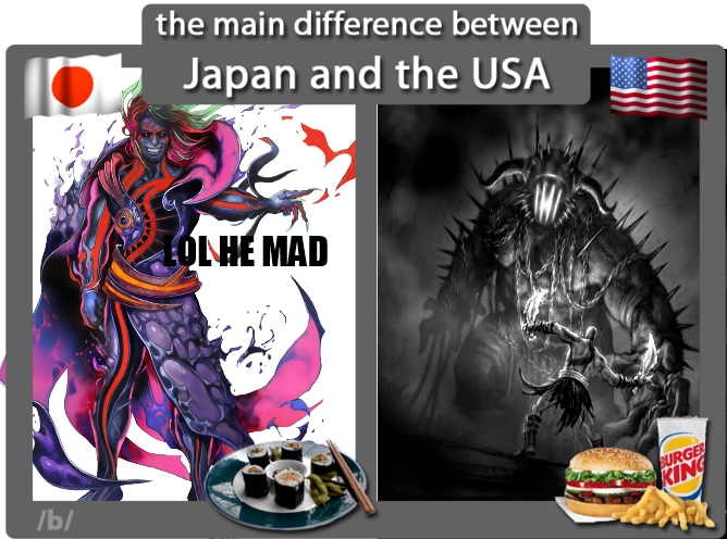 Japan vs. USA- Video Game Depictions of Hades