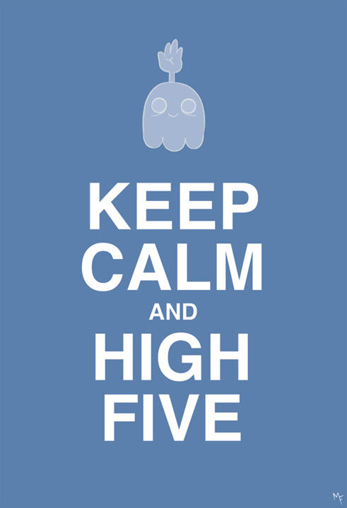 Keep Calm and High Five