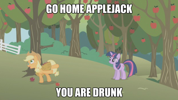 Go home Applejack