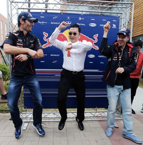 Webber and Vettel:Yeongam Style