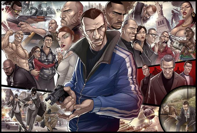 Grand Theft Auto 4 Tribute