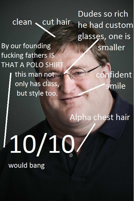 Gabe Newell - Would bang