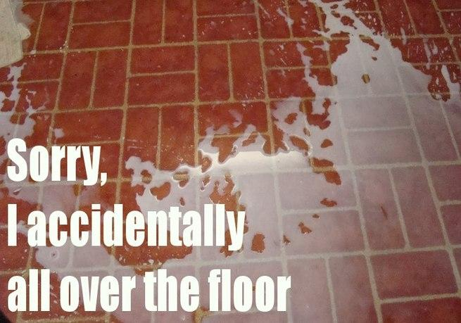 Accidentally On Floor