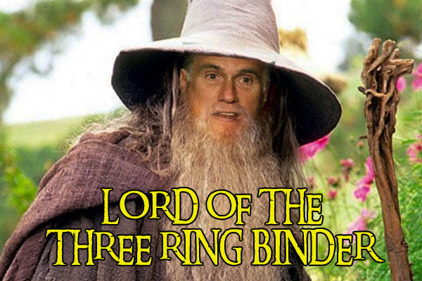 Lord Of the Three Ring Binder