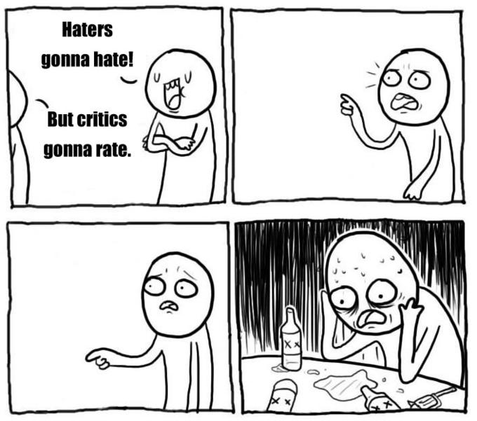 Haters gonna win