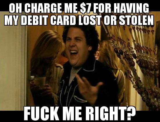 Lost Debit Card