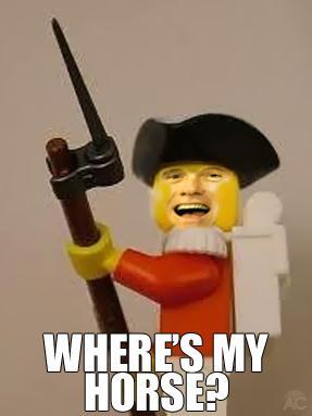I have my bayonet, where's my horse?