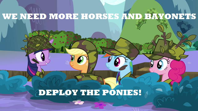 MLP: Horses and Bayonets