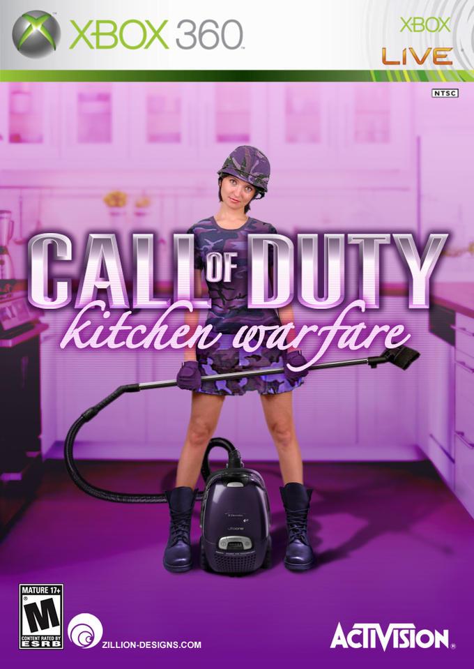COD Kitchen Warfare