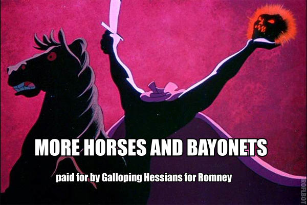 Galloping Hessians for Romney