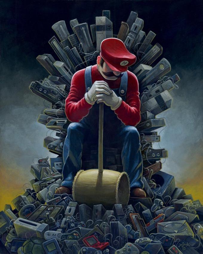 Mario's Throne of Games