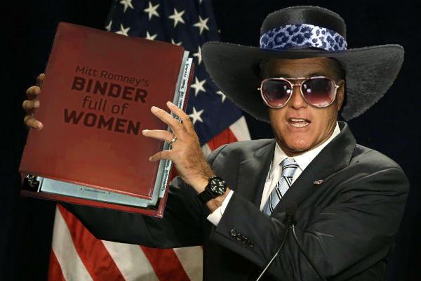 Romney knows the ladies