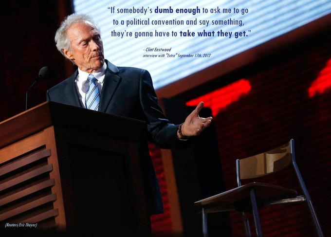 Clint Eastwood's reaction