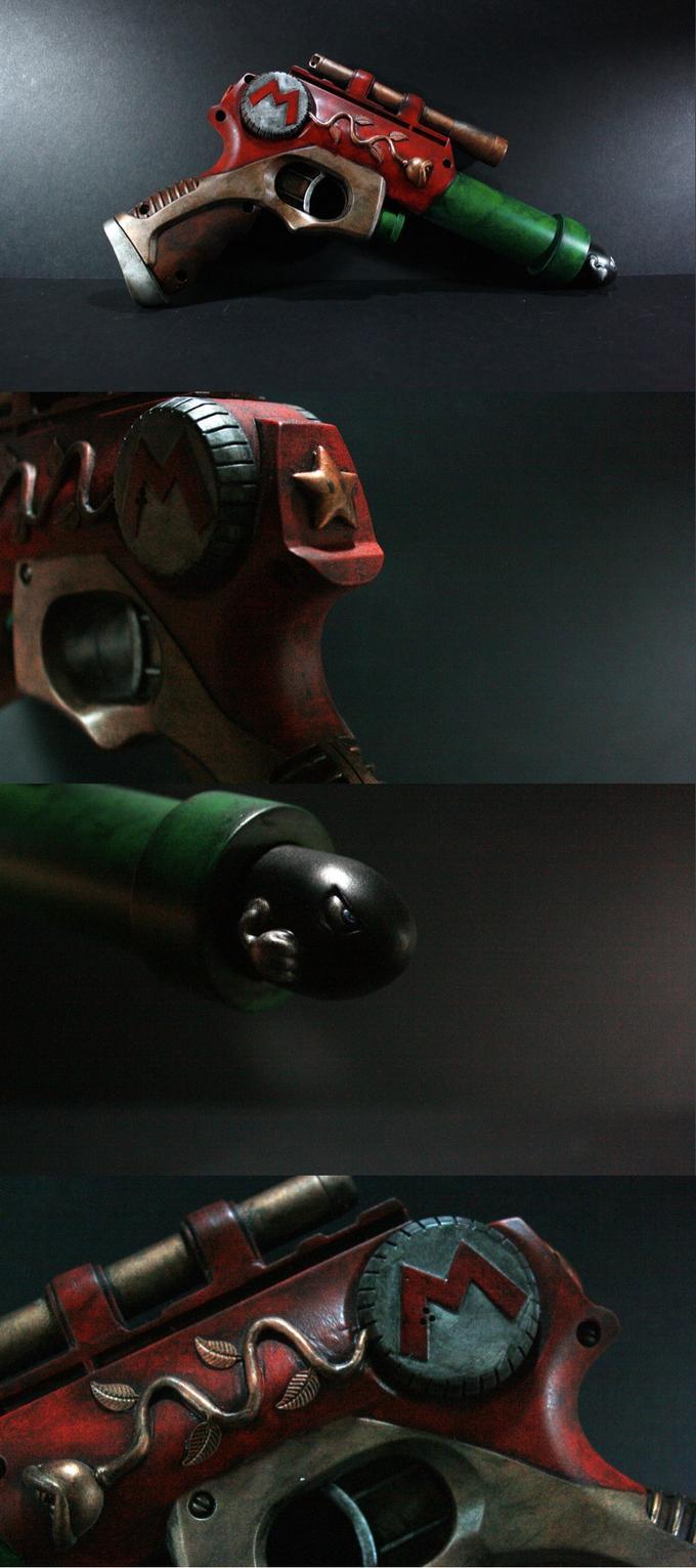 Custom Super Mario Handgun