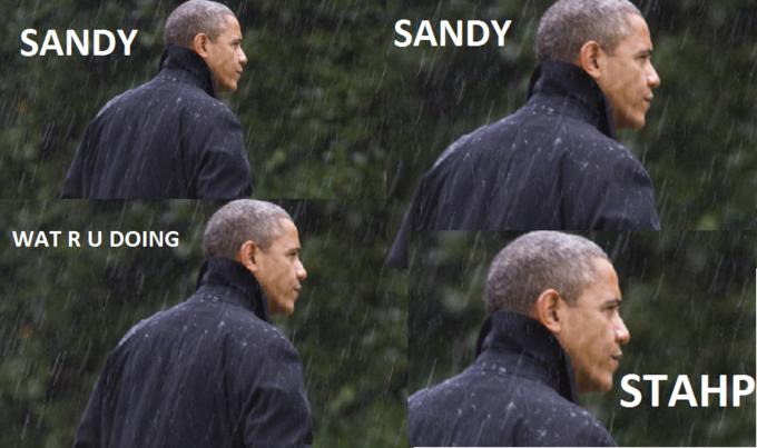 Sandy. STAHP