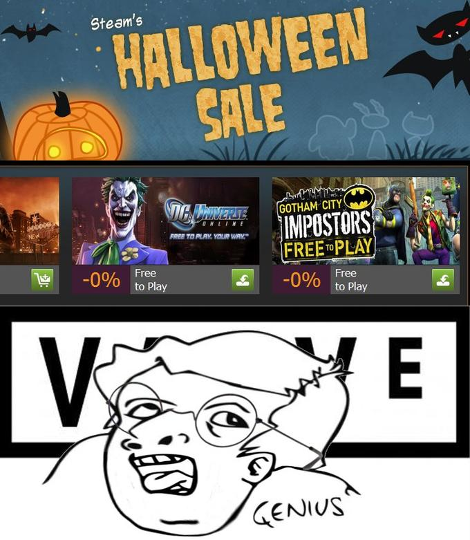 Steam's Halloween Sale