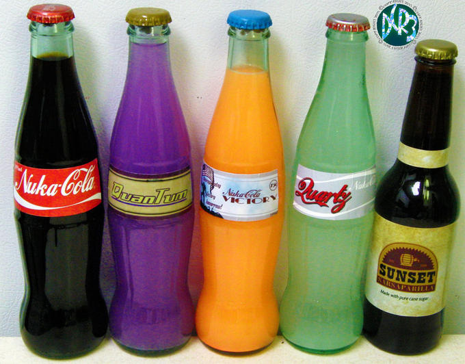 Fallout 3 and New Vegas Soda