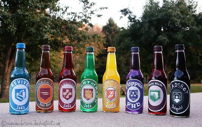 Nazi Zombie Sodas IRL