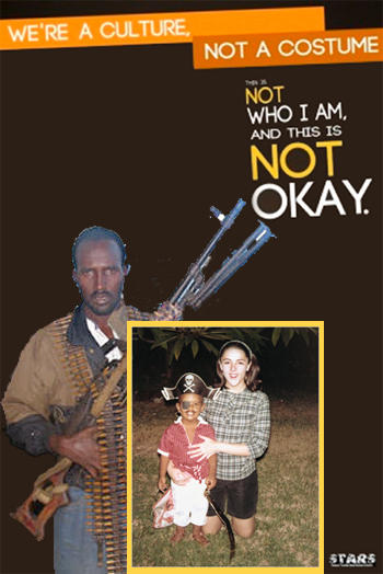 We're a culture, not a costume- Somali pirate and Obama