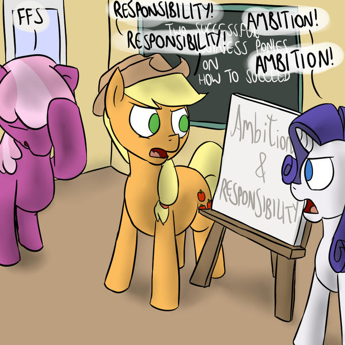 AJ and Rarity's Seminar
