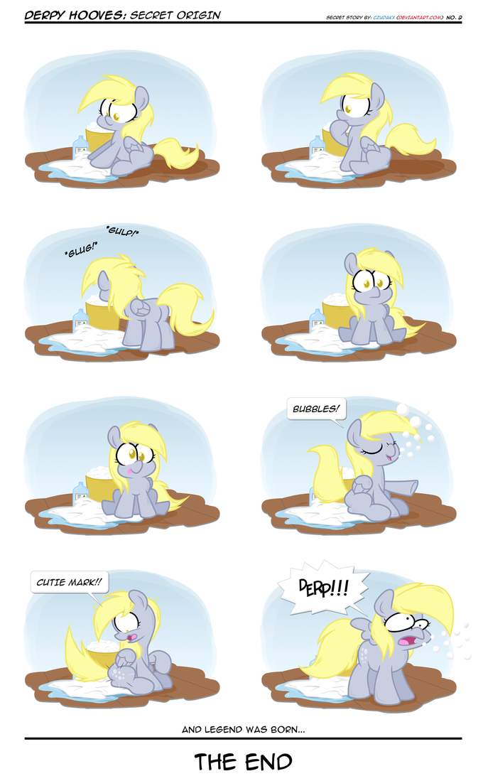 How Derpy was born
