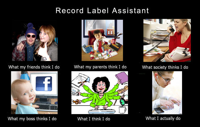 Record Label Assistant