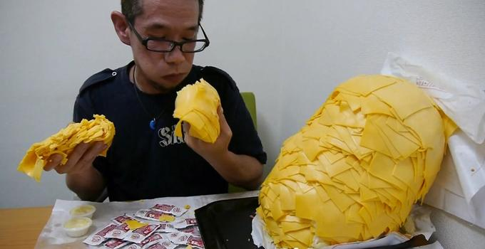 64 Slices of American Cheese