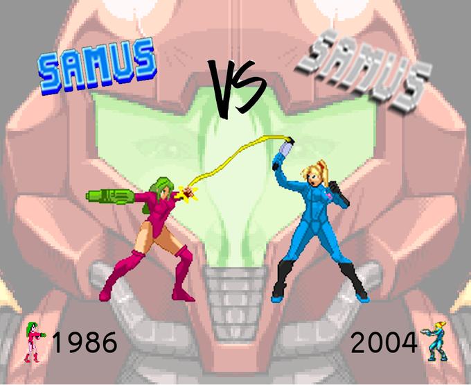 Samus vs. Samus