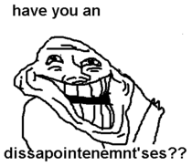 Bad Troll Face 1