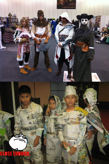 Assassin's Creed thai style Close enough
