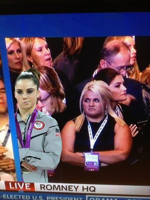 Romney supporters seem to be not impressed