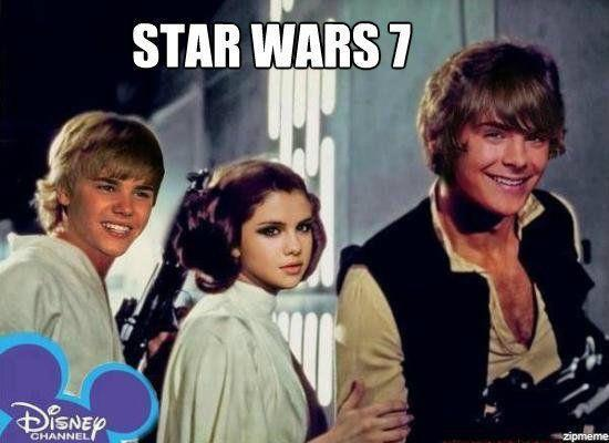 Star Wars 7 Now On Disney Channel! xD lol
