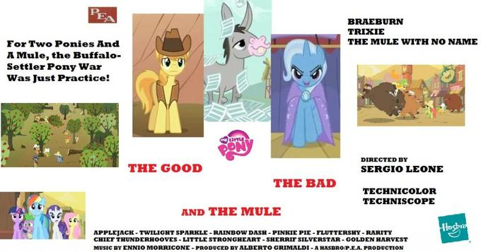 MLP: The Good, The Bad and The Mule (Il Buono, Il Brutto, Il Mulo)