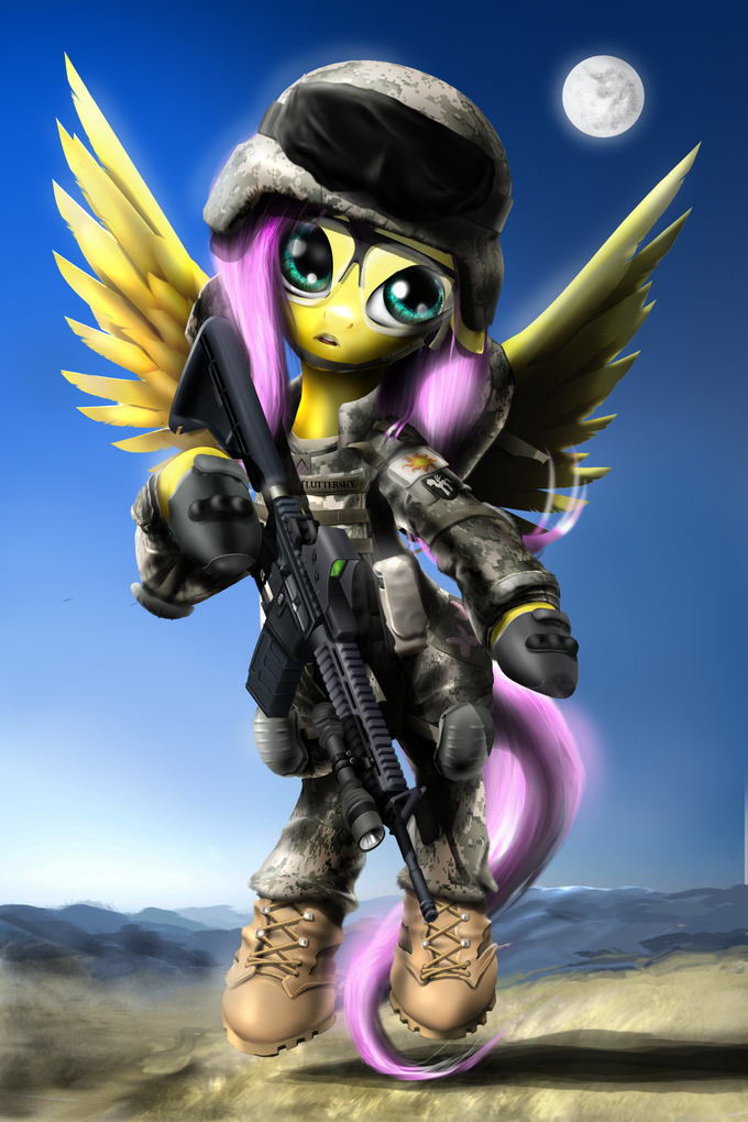 Private Fluttershy