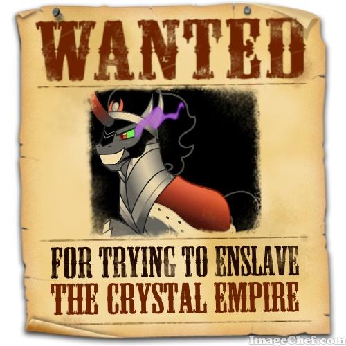 Equestria's Most Wanted: King Sombra