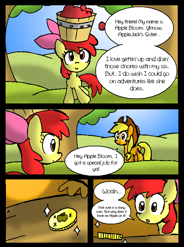 The Princess and the Apple: Page 2