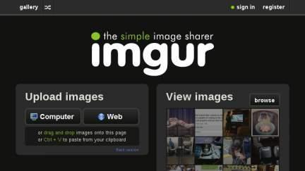 imgur Screenshot