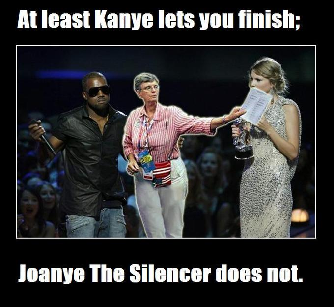 Joanye The Silencer Won't Let You Finish