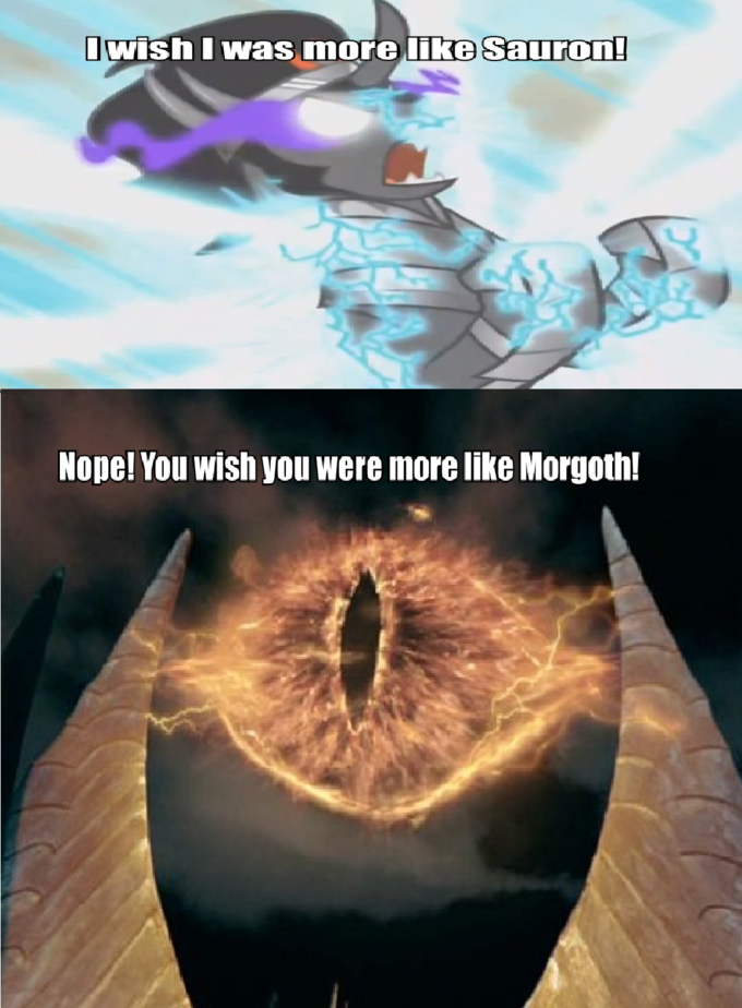 King Sombra wishes he was more like Sauron