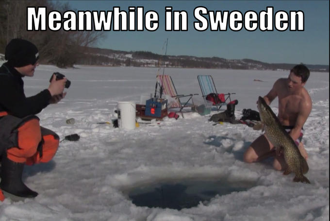 Meanwhile, in Sweeden
