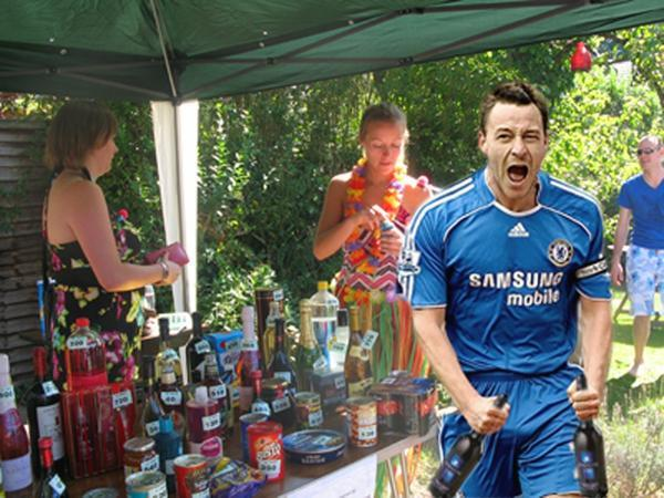 John Terry wins some Sherry
