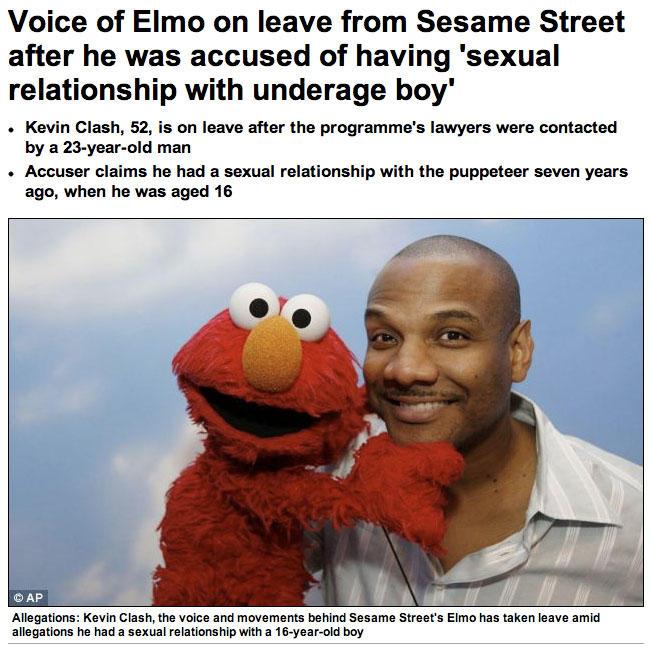 Ruined Elmo