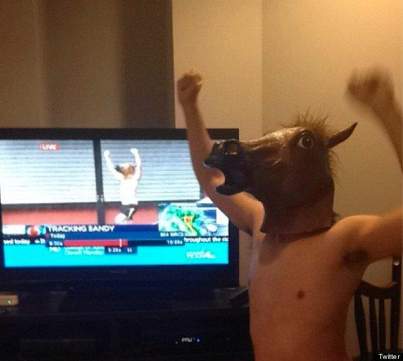 I heard you like bein' a horse