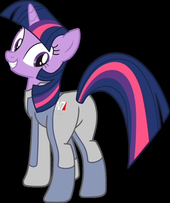Twilight Sparkle Cadet N7